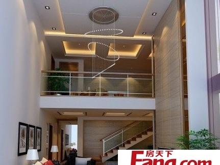 别墅复式楼楼梯效果图图片