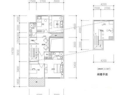 三层别墅带阁楼平面设计图-2017带阁楼房屋设计图 房天下装修效果图图片