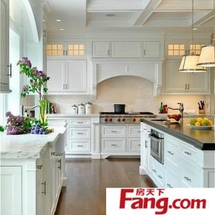 小户型韩式田园风格厨房装修效果图大全2012图片