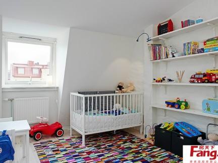儿童房装修效果图 儿童房间装修效果图