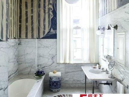 现代浴室装修效果图大全2012图片