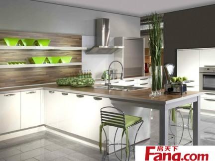 白色系厨房装修效果图大全2012图片
