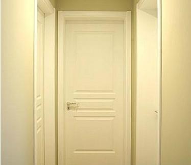 实木材质卧室门装修效果图