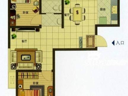 40平米户型小艺术平面图_平面设计图校园复式体育节海报设计图片