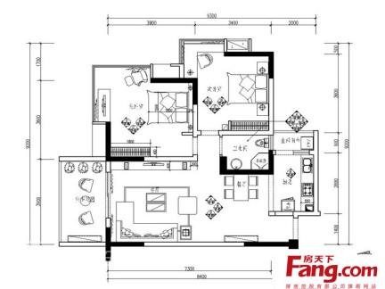 2013 90平方房子设计图大全-200平方房子装修图