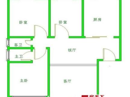 农村两层小别墅户型图