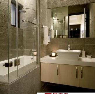 小户型玻璃房卫浴装修效果图