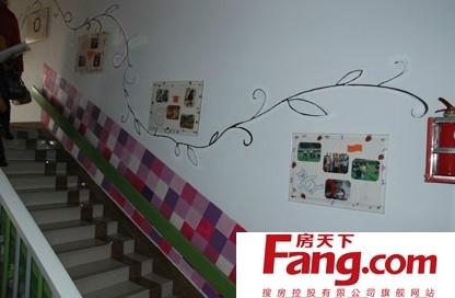 幼儿园楼梯装修效果图 房天下装修效果图