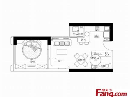2013年最新的单身公寓平面图赏析