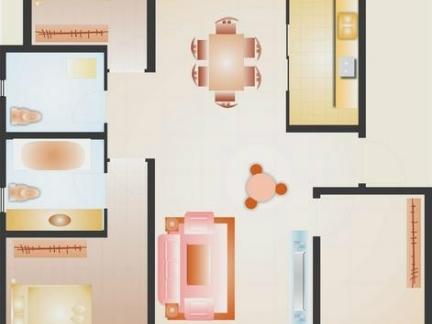 2013年独栋别墅平面设计图