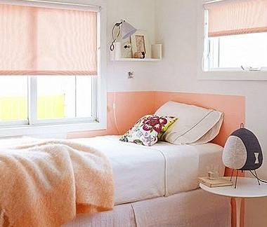 粉色可爱超小卧室装修效果图