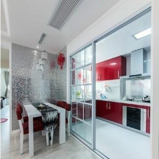 厨房玻璃隔断装修效果图图片