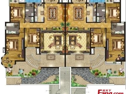 农村两层别墅户型结构设计图图片