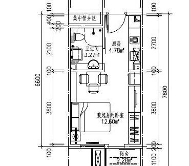 70平米小户型设计图详细图解