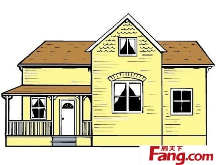 新农村欧式两层小别墅外观设计图