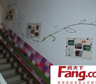 幼儿园走廊墙壁环境布置装饰图片