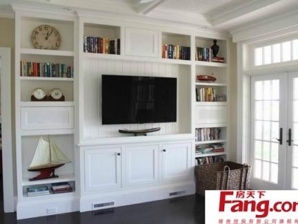 最新最流行的欧式风格客厅电视背景墙效果图大全赏析