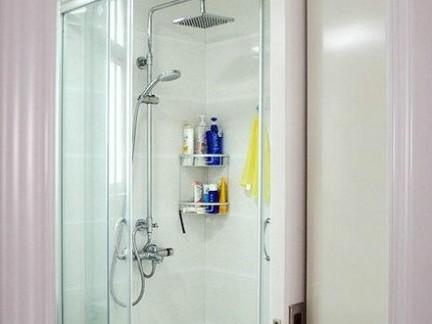 小平方装修效果图卫生间淋浴房