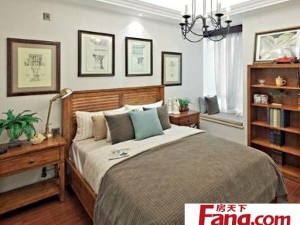 中式风格卧室120平方房子设计图
