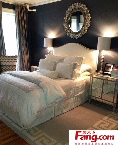 欧式公主房床头背景墙效果图图片