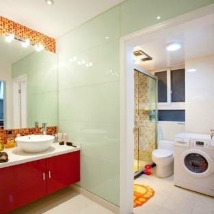 小户型卫浴装修图片-搜房网装修效果图