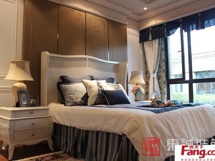 窗帘欧式床头背景效果图图片