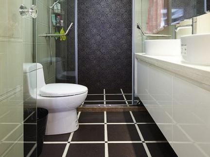 小卫生间室内地板砖装修图片