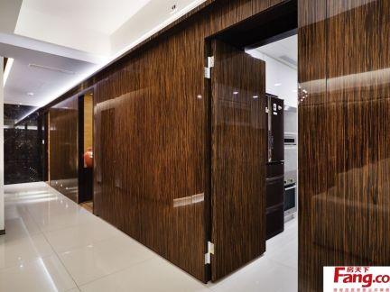 家庭走廊墙面装饰效果图-2017家庭卫浴外走廊装饰 房天下装修效果图图片