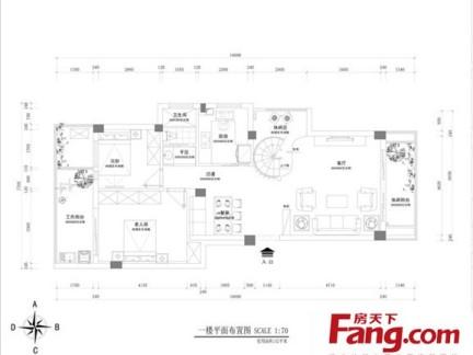 三层流水别墅平面设计图-2018别墅总平面图 房天下装修效果图图片