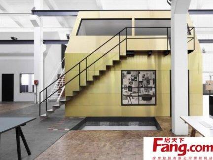 现代时尚风格挑空客厅装修效果图