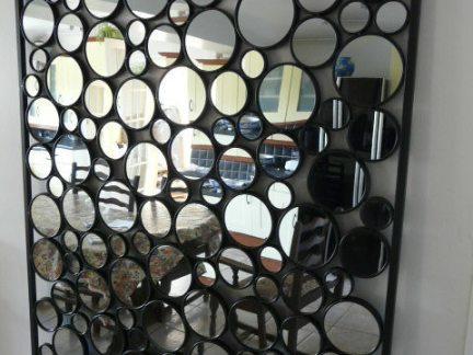 艺术玻璃背景墙图片