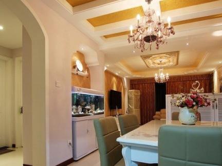 家庭餐厅吊顶设计效果图片图片