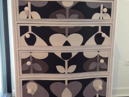 简单欧式手绘家具图片