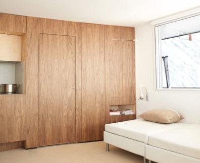 家装室内隐形门装修效果图