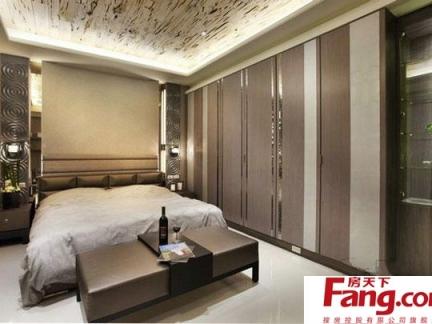 现代风格卧室家装整体衣柜装修效果图