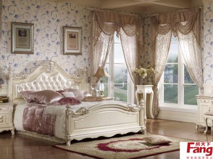 卧室白色欧式家具图片大全