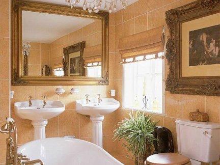 豪华卫生间瓷砖铺贴效果图