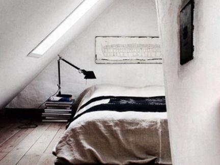 简约风格带阁楼的房子装修设计图
