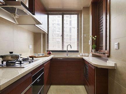 长条形厨房装修效果图