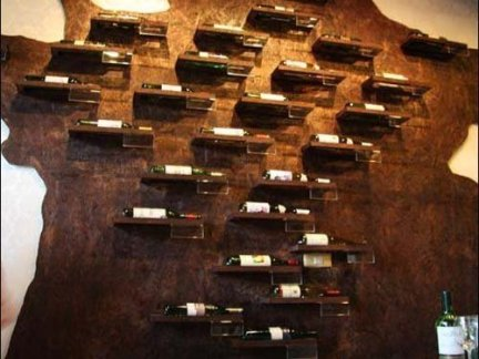 酒吧创意酒柜装修效果图图片
