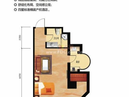 单身公寓户型平面图大全