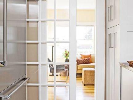 宜家家居厨房折叠门图片
