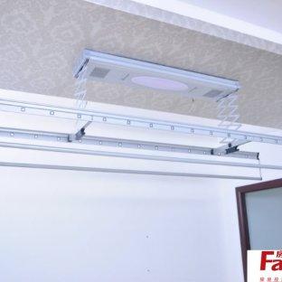 阳台升降晾衣架价格多少升降晾衣架手摇器里配件怎么安装晾衣架
