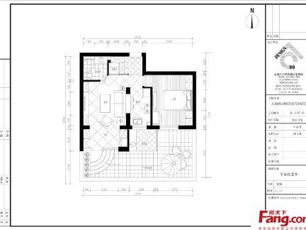 50平方小户型室内平面图