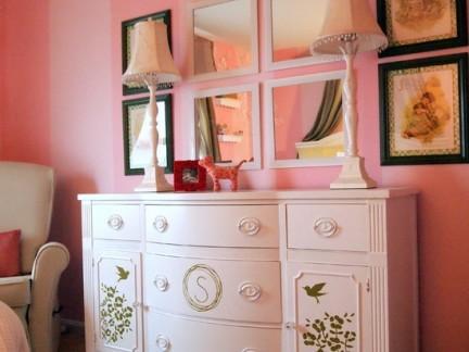 2017卧室梳妆台设计 房天下装修效果图
