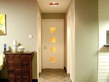 别墅地板砖过道效果图别墅客厅地板砖效果图图片7