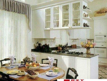 2017简约欧式厨房效果图大全-房天下装修效果图图片