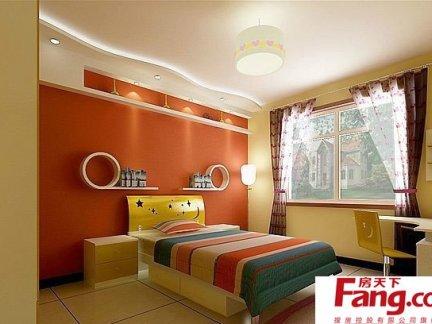 时尚创意小孩卧室装修效果图大全