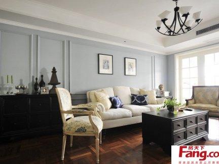 2017英式客厅简装图片-房天下装修效果图图片