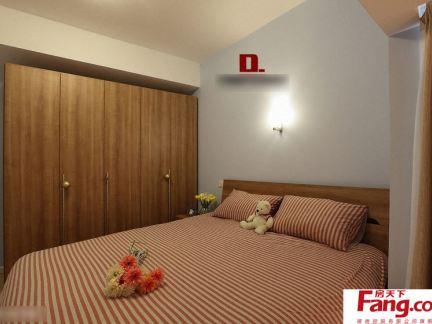 12平米简装小卧室效果图